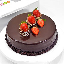 Choco Strawberry Delight: Cake Delivery Sri Lanka