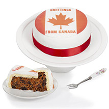 Greetings From Canada Fruit Cake: Send Cake to UK