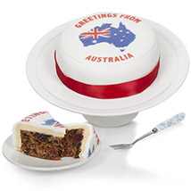 Greetings From Australia Fruit Cake: Cake Delivery in UK